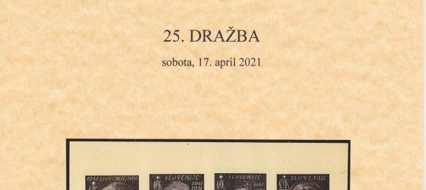 25. auction catalog